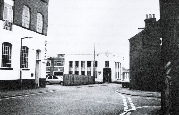 Moore and Osbourne's old factory office