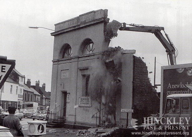 demolition holy trinity parish hall