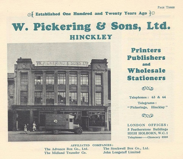 pickerings family-owned business in hinckley