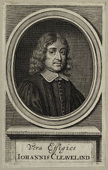 John Cleveland 17th Century English Poet