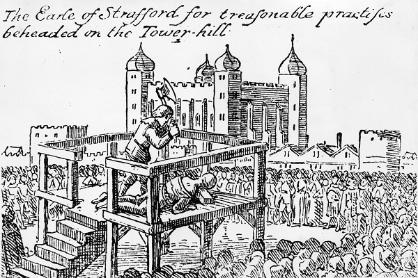 The execution of Thomas Wentworth, 1st Earl of Strafford