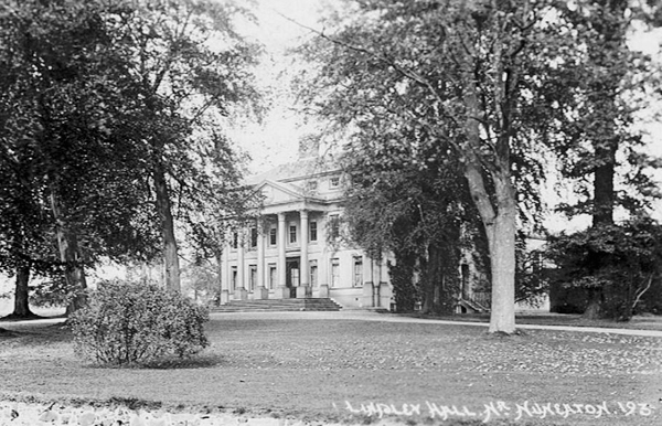 showing some of the grounds of lindley hall