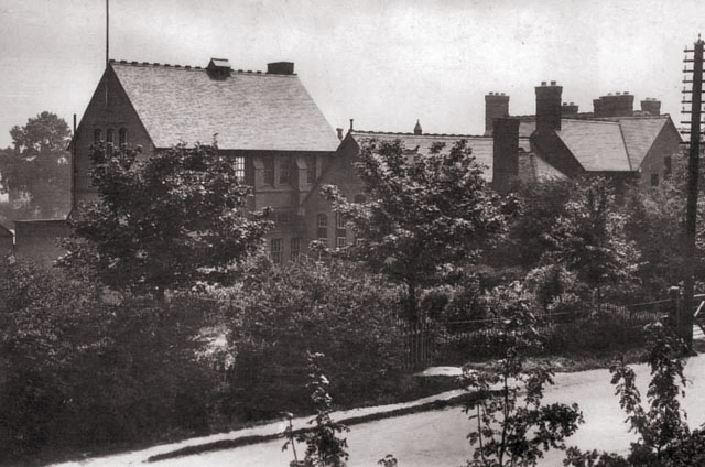 Hinckley Grammar School (Now Mount Grace, viewed from Leicester Road)