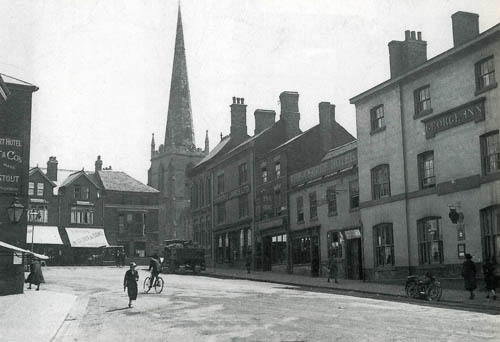 the george inn, market place c.1914