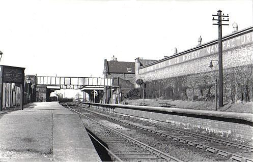 Hinckley Railway Station South Leicestershire Railway