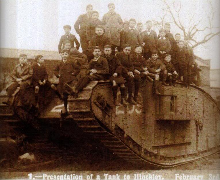The Hinckley Tank first world war