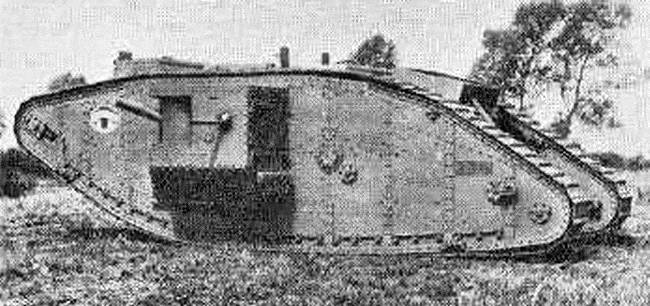 mark iv male tank