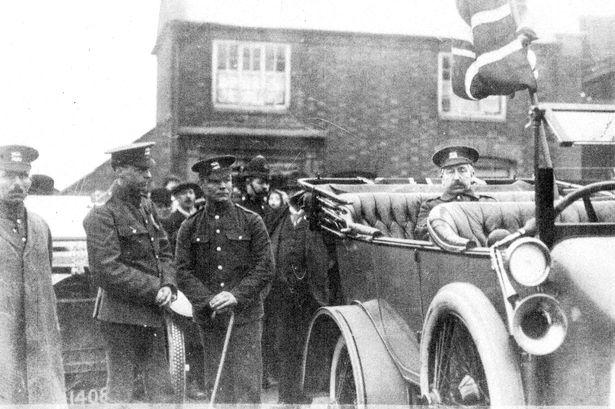Togo Bolesworth on Barwell recruitment drive 1916